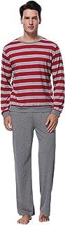 DC Comics Pantalones de Pijama de algod/ón Batman Superman Lounge para Hombre de Novedad para Hombre
