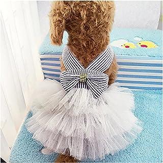 Famhome Perro Primavera Verano, Moda Verano Bonito Dulce Cachorro Perro Mascota Vestido Falda Perros la