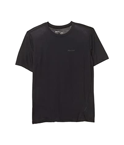 Marmot Conveyor Tee Short Sleeve (Black) Men