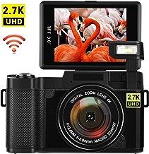 Digital Camera with WiFi 24.0 MP Vlogging Camera 2.7K...
