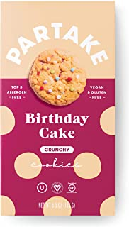 PARTAKE FOODS Birthday Cake Cookies, 5.5 OZ