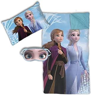 Jay Franco Disney Frozen 2 3 Piece Slumber Set, Blue