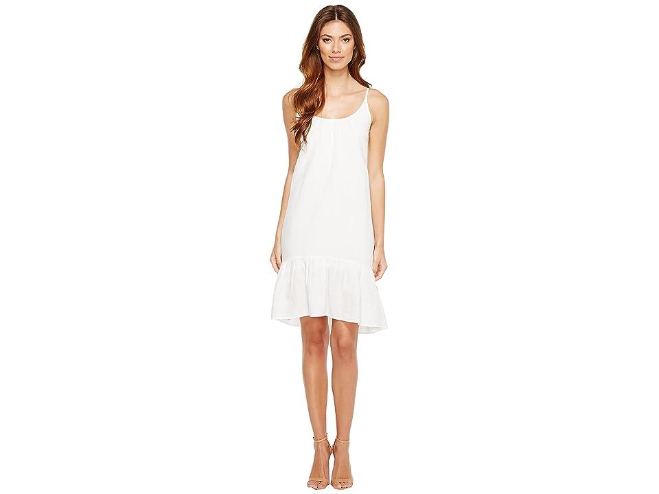 Lilla P Peplum Dress (White) Women