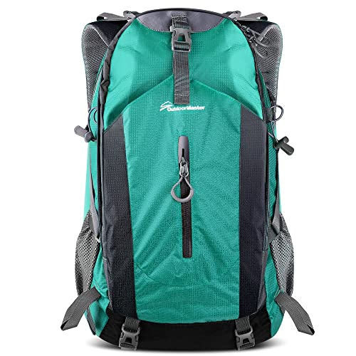 b59eb45d0224 OutdoorMaster Hiking Backpack 50L - Hiking   Travel Backpack w Waterproof  Rain Cover   Laptop