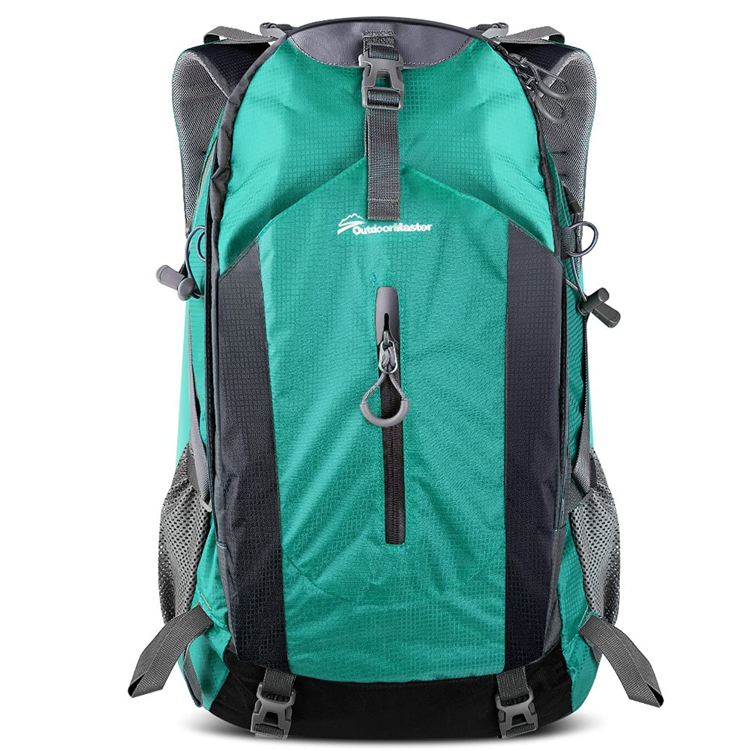 OutdoorMaster Hiking Backpack 50L - Hiking & Travel Carry-On Backpack w/Waterproof Rain Cover - for Hiking, Traveling & Camping