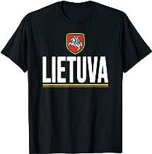 Lithuania T-shirt Lithuanian Flag Lietuva Souvenir Love Gift