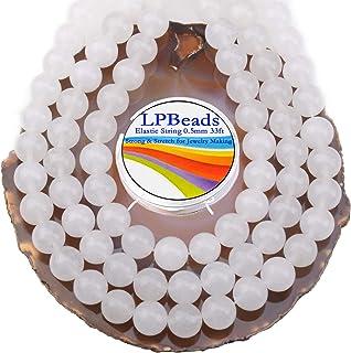 Lpbeads White Jade