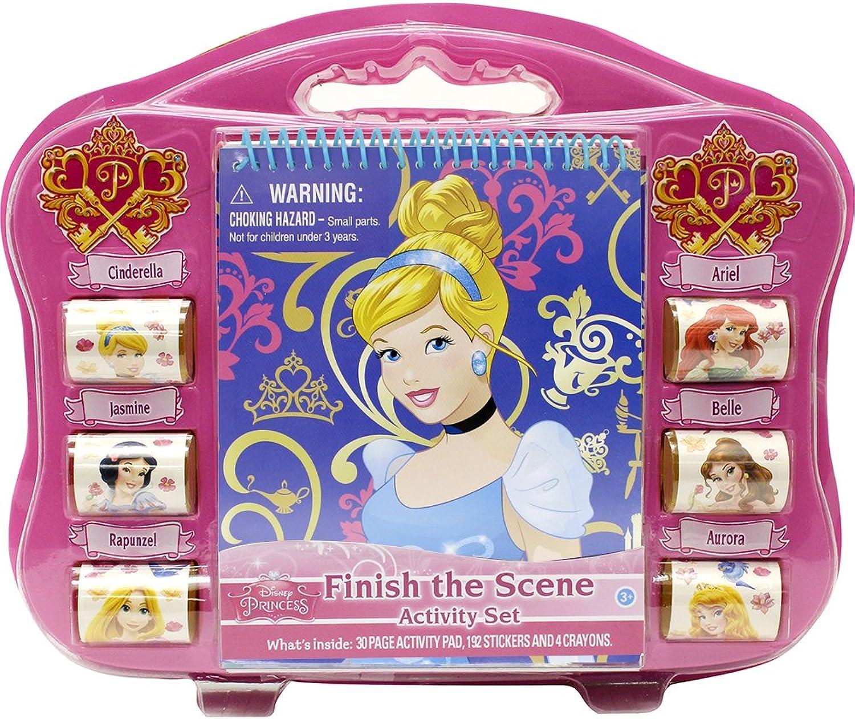 Tara Toy Cinderella Finish The Sticker Scene Playset