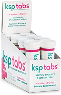Sponsored Ad - KSPtabs All Natural Hydration & Kidney Health Supplement to Combat Calcium Oxalate Crystal Formation, Very ...