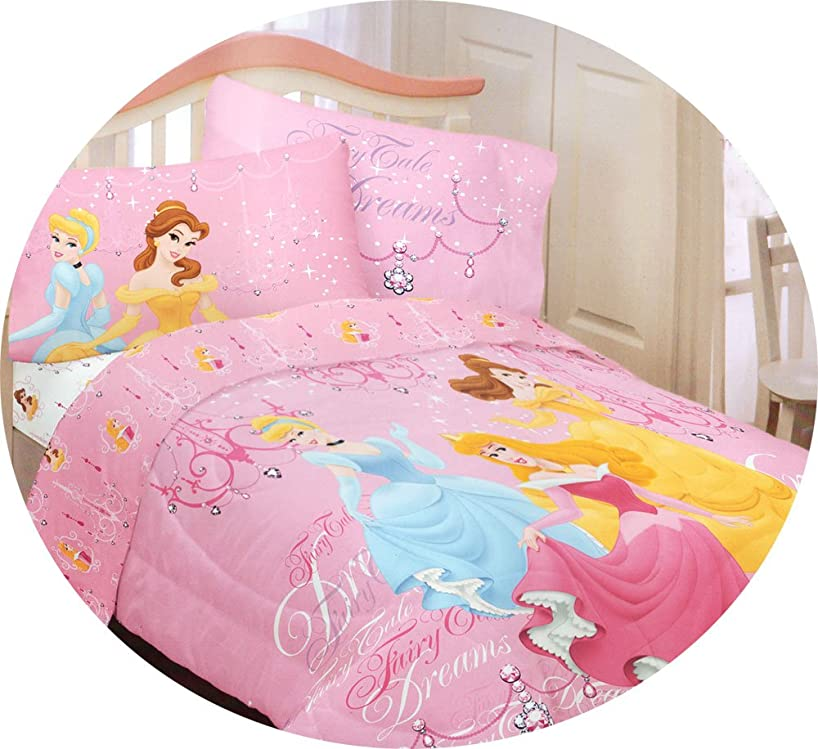 Disney Princess Fairy Tale Dreams Twin Bed Comforter