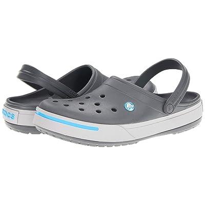 Crocs Crocband II Clog (Charcoal/Light Grey) Shoes
