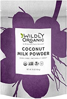 Wildly Organic Coconut Milk Powder – Made From 97% Coconut Milk and Only Three Ingredients, Vegan (1 Pound)