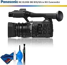 Panasonic HC-X1000 4K DCI/Ultra HD/Full HD Camcorder + Cleaning Kit