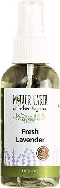 母亲地球香水公司新鲜薰衣草天然空气清新剂 4 盎司