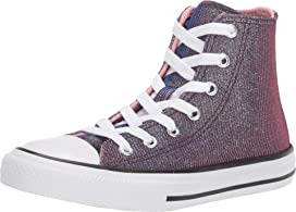 6aba5199fd Converse Kids Chuck Taylor® All-Star® Miss Galaxy Print - Hi (Little ...