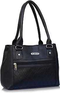 Aisna Women's Handbag (Black, Asn-057)