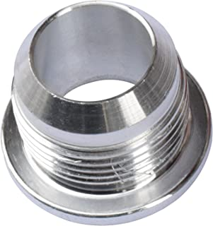 Gallop 16AN Weld On Fitting Billet Aluminium Fabrication Male Bung Hose Adapter for Fuel Oi Coolant, Air Oil Pan, Oil Return Tank, Radiator