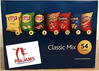 Frito Lay Classic Mix Variety Chips, 54 Bags