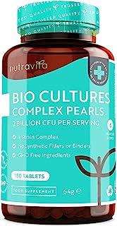 Potente Probióticos - 180 Capsulas (Suministro de 6 Meses) - Incluye 2 mil millones de UFC garan...