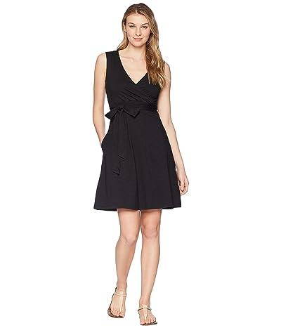 Toad&Co Cue Wrap Sleeveless Dress (Black) Women