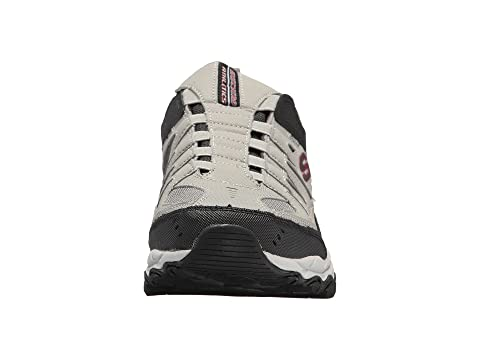 Negro After SKECHERS M Burn Gris Fit qUgxwXSg
