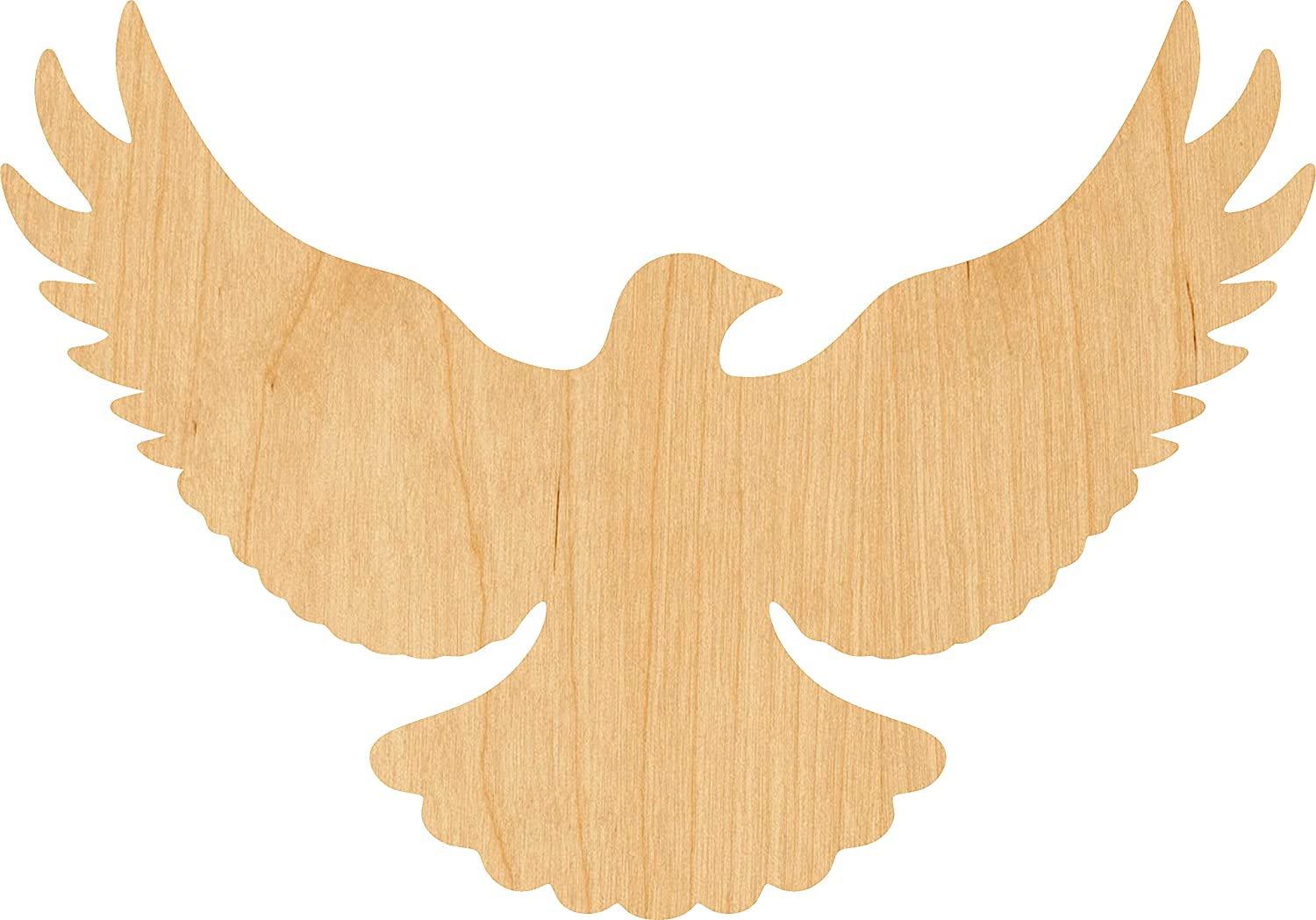 Spring new work Flying Dove Laser Cut Out Wood Inch A surprise price is realized Shape Supply Craft 4 -
