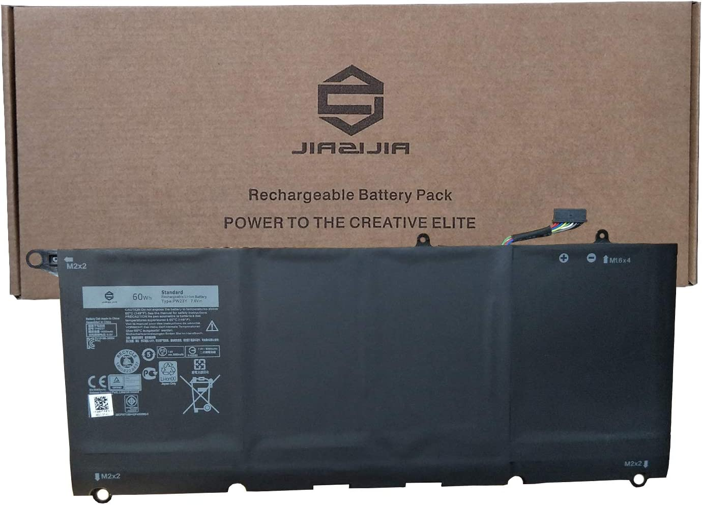 JIAZIJIA Free shipping 55% OFF PW23Y Laptop Battery Replacement for 13 X Dell 9360 XPS