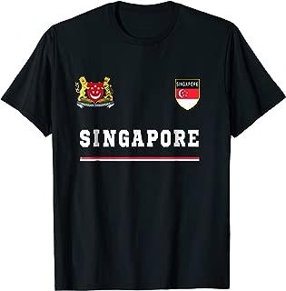 Singapore T-shirt Sport/Soccer Jersey Tee Flag Football