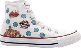 Women Sneakers White High Top Women Shoes with Design