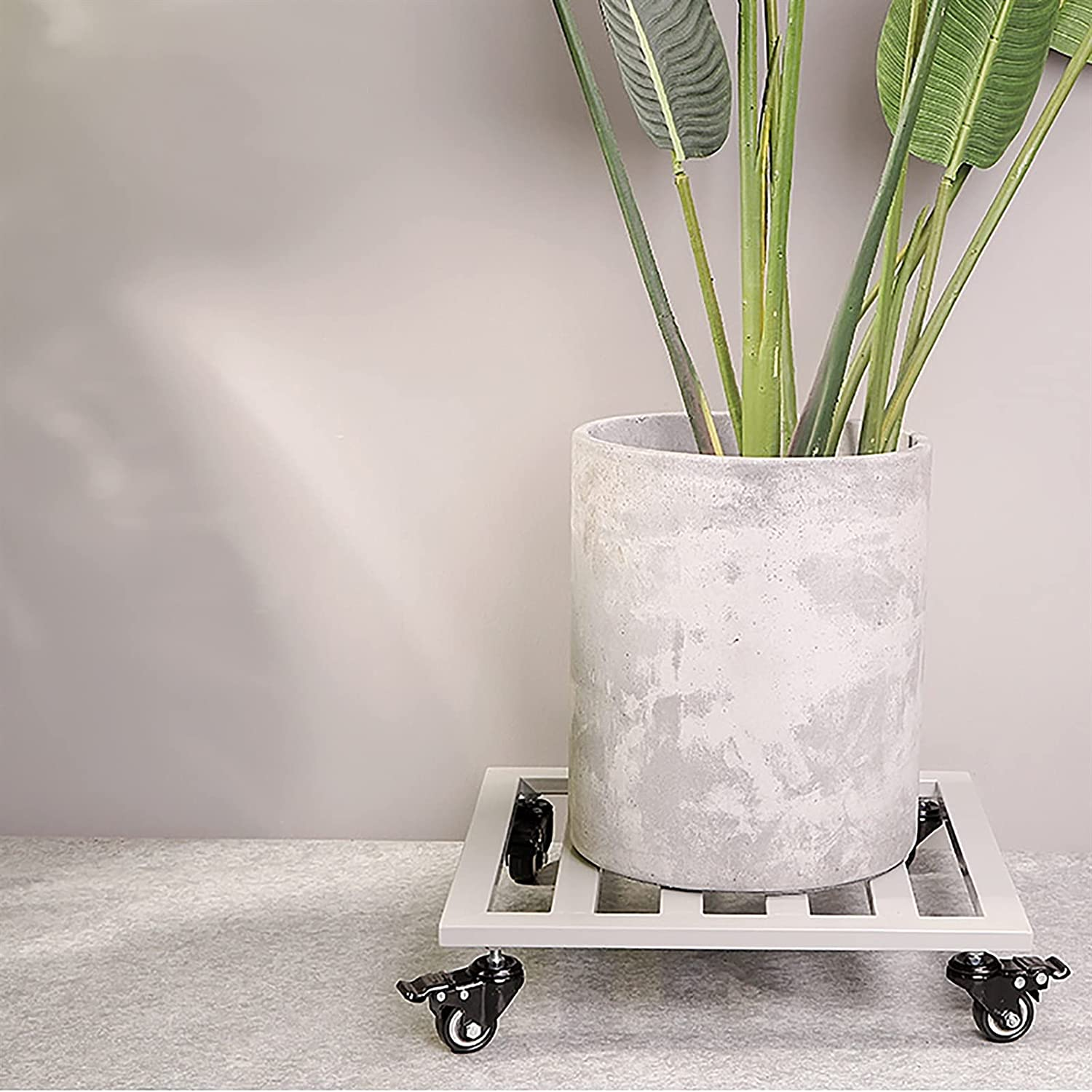 Planter Caddy SALENEW famous very popular with Rolling Wheels Square Stand Plant P