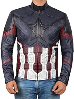 Superhero Costume Jacket for Mens