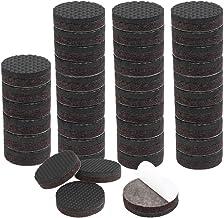 DealMux 40 stuks meubelglijders rond 3/4 inch meubelglijders auto tangen anti-slip sticks voor voeten stoel kast beenbesch...