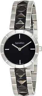 Calvin Klein Womens Quartz Watch, Analog Display and Ceramic Strap K5T33C41