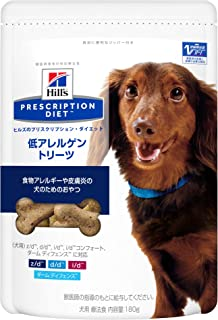 【療法食】 プリスクリプション・ダイエット ドッグフード 低アレルゲン トリーツ 180g