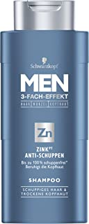 HOMBRES champú Schwarzkopf zinc anticaspa 250 ml