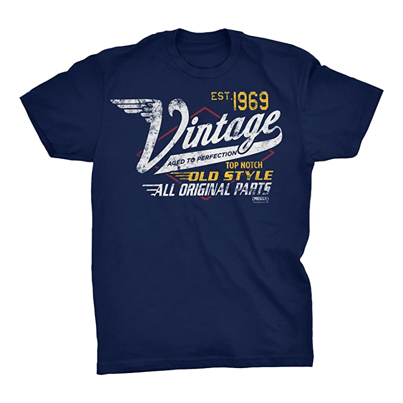 50th Birthday Gift Shirt - Vintage 1969 Aged to Perfection