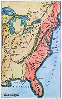Colonial America Map Na Map Of The Thirteen Original American Colonies Mid-18Th Century Line Engraving Late 19Th Century Poster Print by (18 x 24)