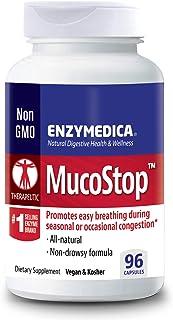 Enzymedica, MucoStop, 96 Capsules