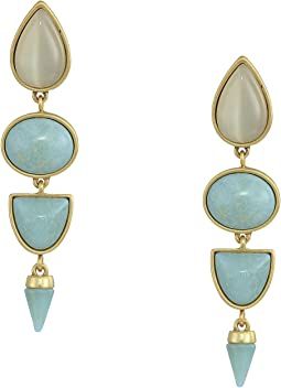 Stone Statement Earrings