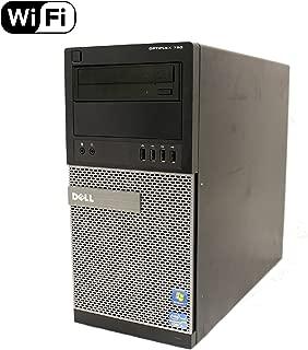 Dell Optiplex 790 High Performance Desktop Computer MiniTower, Intel Core i5-2400 Processor up to 3.4GHz, 8GB RAM, 2TB HDD + 120GB SSD, DVD, WiFi, Windows 10 Pro 64 bit (Renewed)