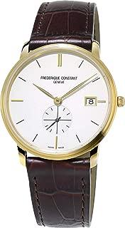Frederique Constant Slimline Quartz Movement Blue Dial Men's Watch