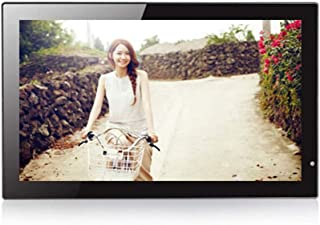 FEE-ZC 18.5 Inch Digital Photo Frame, 1366X768 Resolution HDMI 1080P HD Display Music Video Player Wall Hanging Gift Elect...