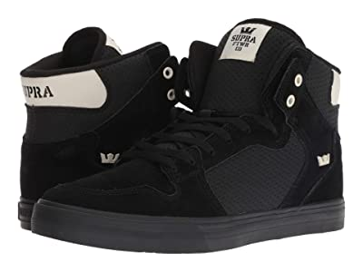 Supra Vaider (Black/Off-White/Black) Men