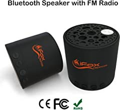 iFox iF010 Bluetooth Speaker – Portable Bluetooth Speaker with FM Radio Tuner, SD Card, AUX-in, – Wireless Speaker for iPhone, iPad, Smartphone