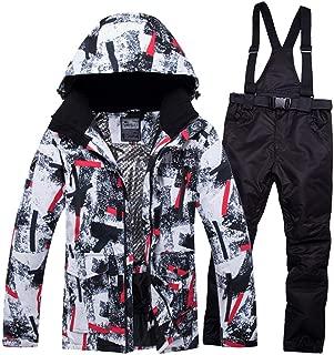 STILLKEEPER Men's Ski Suit Waterproof Snowboard Jackets and Pants Outdoor Snowsuit
