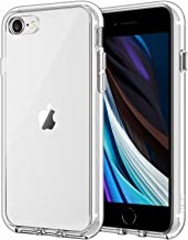 JETech Case for Apple iPhone SE 2nd Generation, iPhone 8 and iPhone 7, 4.7-Inch, Shockproof Bumper Cover, Anti-Scratch Clear Back, HD Clear