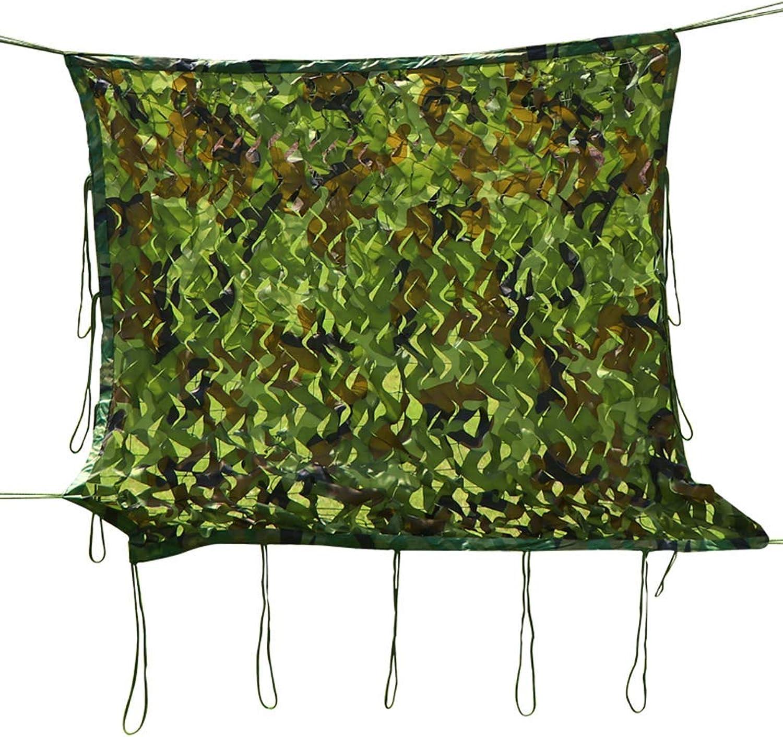 ACZZ Tarpaulin Camouflage Netting Jagd Woodland Oxford Polyester Tarnnetz für Sonnenschutz Dekoration Jagd Blind Camping Fotografie Dschungel,6 M × 8 M