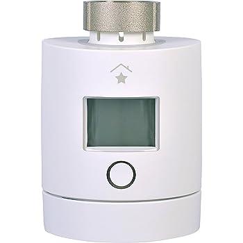 innogy SE SmartHome Heizkörperthermostat (2. Generation) / Heizungssteuerung, Programmierbare Temperaturregelung, mit Feuchtigkeitsmessung, App-Steuerung, funktioniert mit Amazon Echo/Alexa, 10265151