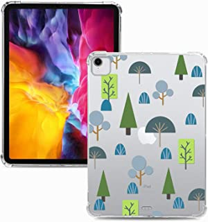 """Miagon Soft Slim Shell Case for iPad Pro {11""""} 2018,Creative Colorful Pattern Clear Lightweight Transparent TPU Back Cover..."""
