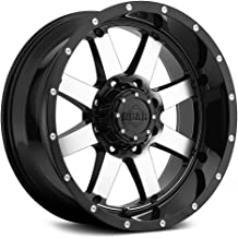 Gear Alloy 726M Big Block Wheel with Machined Finish (20x10